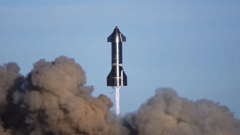 SpaceX rilascia un Video Recap del loro SN8 Making its Hop Test!