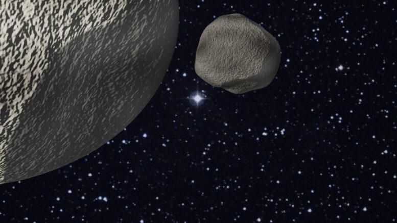 Le interazioni gravitazionali possono guidare comete e asteroidi da Giove a Nettuno in soli 10 anni