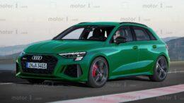 La nuova Audi RS3 debutterà a settembre 2021 con circa 420 CV (313 kW)