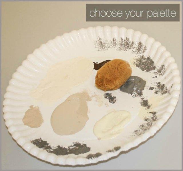scegli la tua tavolozza