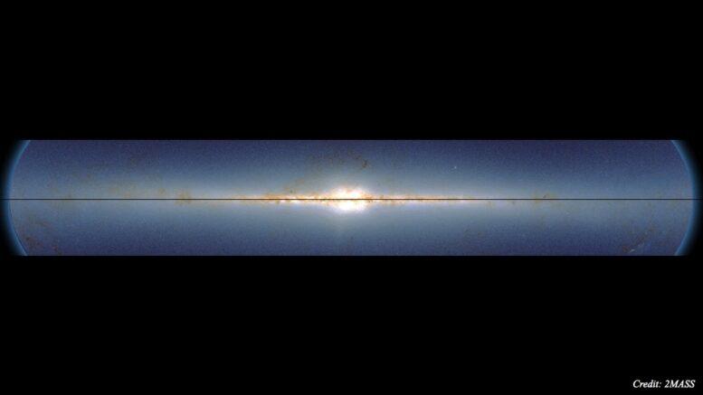 Si può effettivamente vedere l'onda della Via Lattea quando si mappa le sue stelle