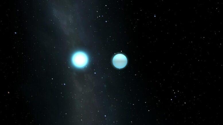 Strange Green Star è il risultato di una fusione tra due nani bianchi