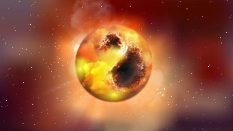 Gli astronomi speravano di vedere le prove delle particelle di materia oscura all'interno di Betelgeuse. Nessuna fortuna