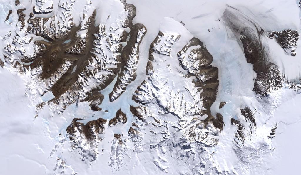 Immagine delle valli secche McMurdo in Antartide