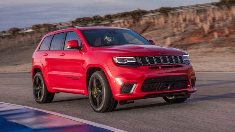 La prossima Jeep Grand Cherokee Trackhawk sarà elettrificata