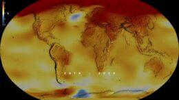 Il 2020 è l'anno più caldo del mondo