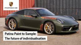 Ora puoi ordinare la tua Porsche con effetto ruggine patinato