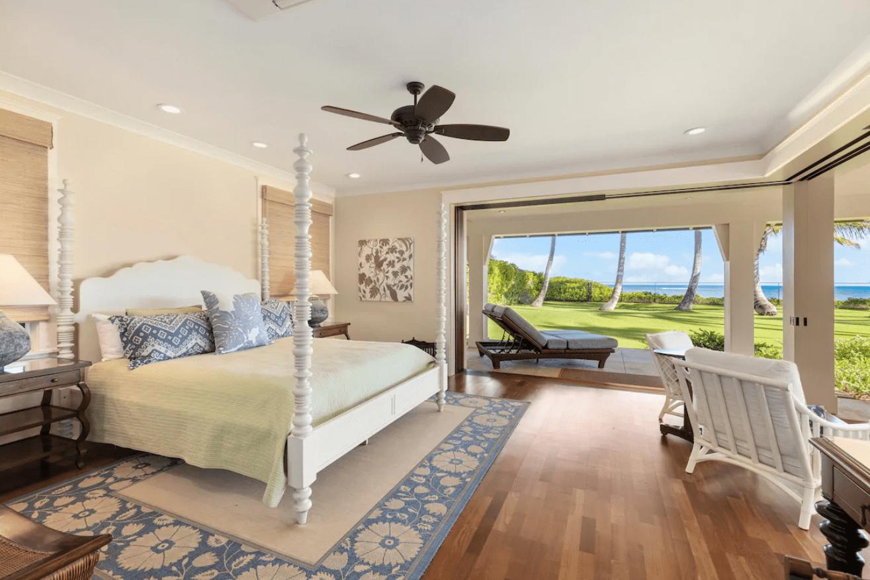 Camera da letto a casa dei sogni
