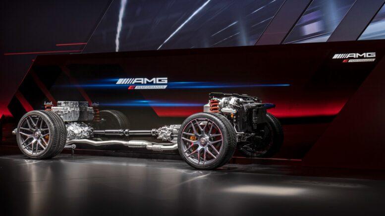 Mercedes-AMG Condividi i dettagli sulla baderna ibrida a quattro cilindri da 644 CV (480 kW)