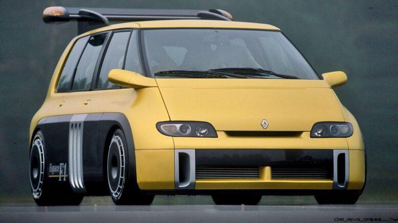 Ritorno al tempo Una Renault Espace era equipaggiata con un V10 di Formula 1