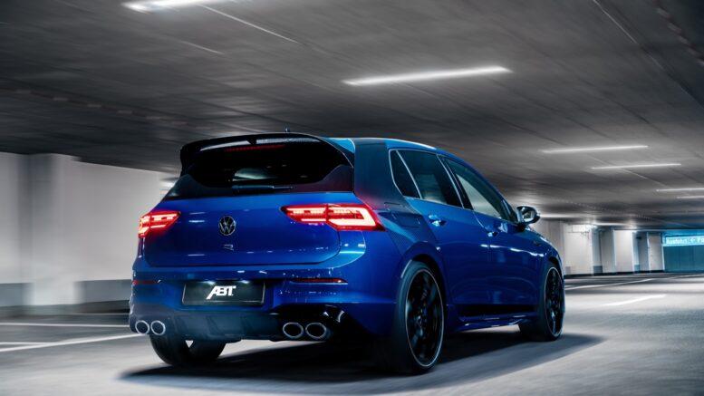 ABT modifica VW Golf 8 R a 378 CV (282 kW)