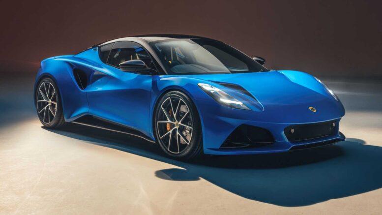 Rivelata l'auto sportiva Lotus Emira legata a SA