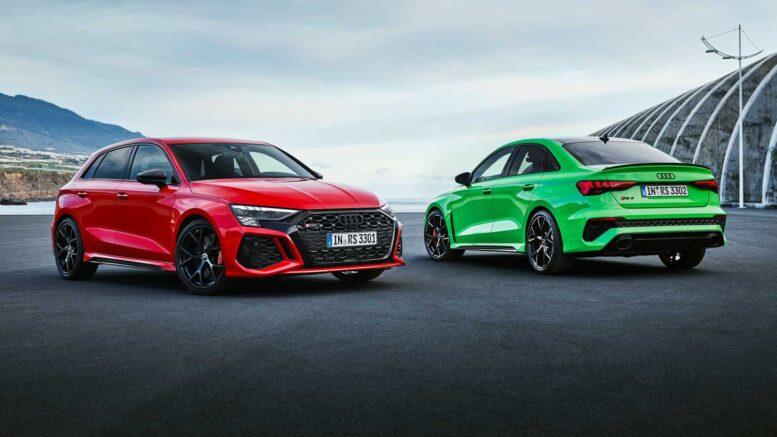 La nuova Audi RS 3 svelata con 395 CV (294 kW)