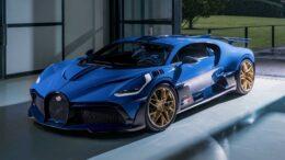 L'ultima Bugatti Divo consegnata al fortunato proprietario