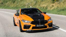 BMW M8 ottiene 888 CV (662 kW) grazie a G-Power